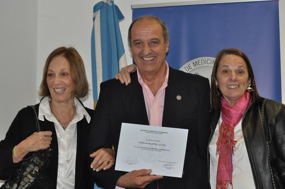 Con Maria y Marcela mi cunada