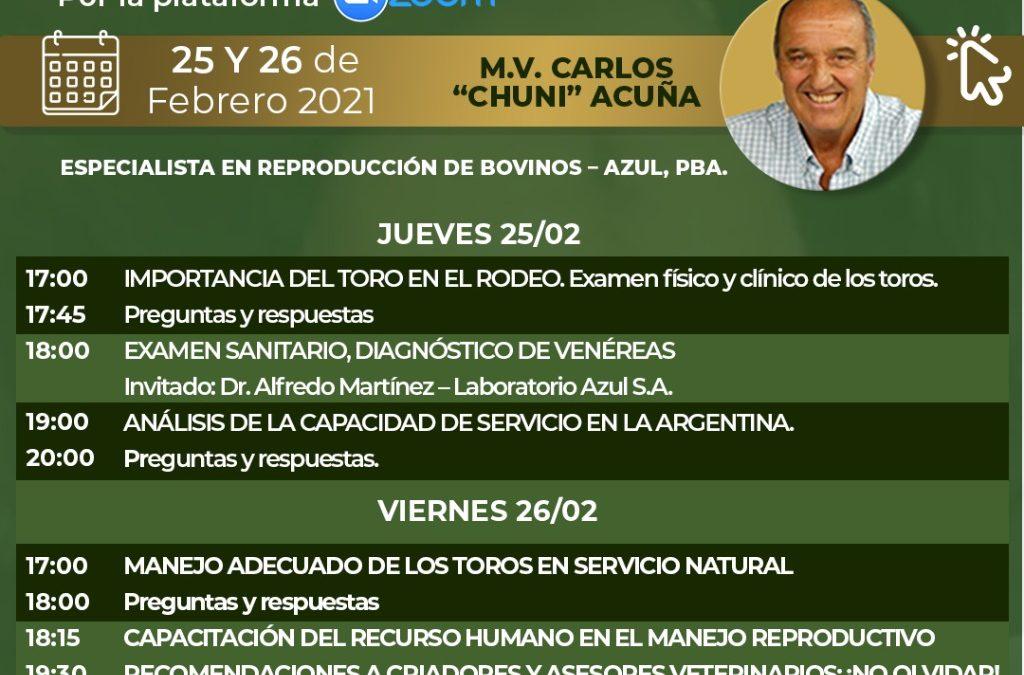 JORNADA VIRTUAL DE CAPACITACIÓN | REVISACIÓN DE TOROS